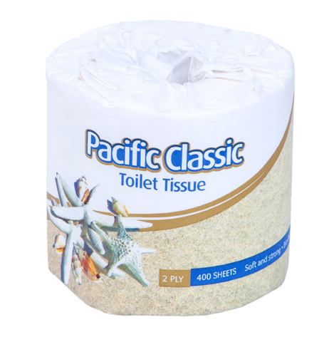 PH CLASSIC WRAPPED TOILET ROLLS  2PLY 400s 48ROLL