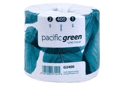 PH GREEN RECYCLED TOILET TISSUE 2ply 400s 48roll