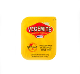 KRAFT VEGEMITE PORTIONS  90