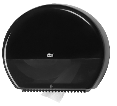 TORK JUMBO RESERVE TOILET TISSUE DISPENSER BLACK T1