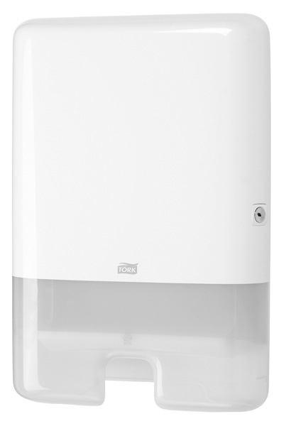 TORK SLIMLINE TOWEL DISPENSER WHITE H2