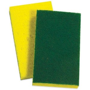 3M SCOTCHBRITE #74 SPONGE with SCOURER
