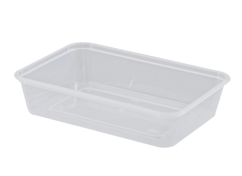 UP FREEZER GRADE RECTANGLE CONTAINER  500ML 50SLV