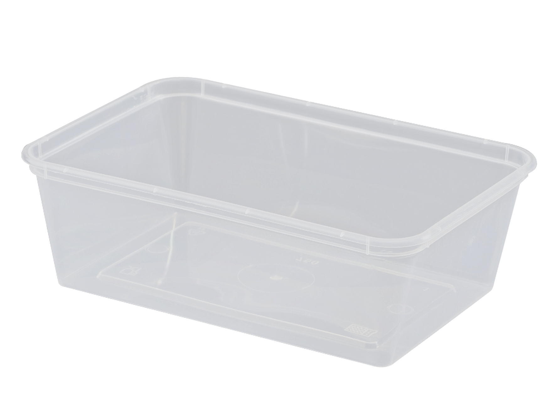 UP FREEZER GRADE RECTANGLE CONTAINER  750ML 50Slv
