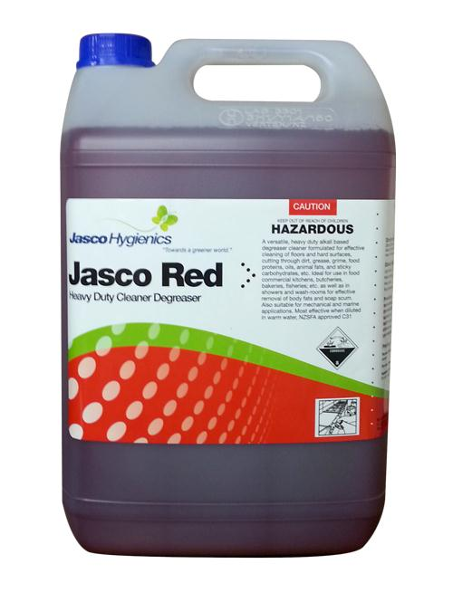 JASCO RED HD CLEANER DEGREASER 5Ltr