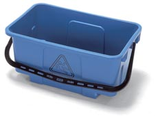 NUMATIC MICROFIBRE MOP BUCKET BLUE 34Ltr