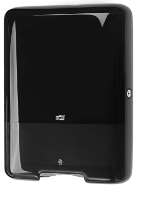 TORK INTERFOLD TOWEL DISPENSER BLACK H3
