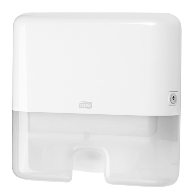 TORK SLIMLINE MINI TOWEL DISPENSER WHITE H2