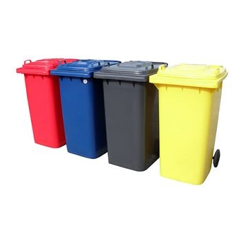WHEELY BIN COLOURED 120Ltr