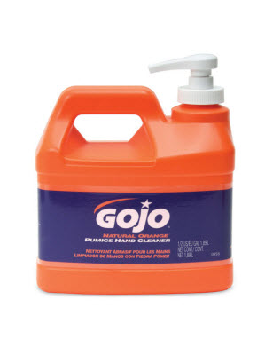 GOJO ORANGE PUMICE HAND CLEANER & PUMP 1.89Ltr