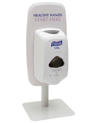 PURELL TFX COUNTER STAND COMPLETE