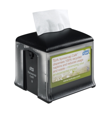 XPRESSNAP CAFE NAPKIN DISPENSER BLACK N10