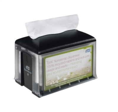 XPRESSNAP TABLETOP NAPKIN DISPENSER BLACK N4