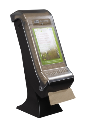 TORK XPRESSNAP TOWER STAND DISPENSER BLACK N4