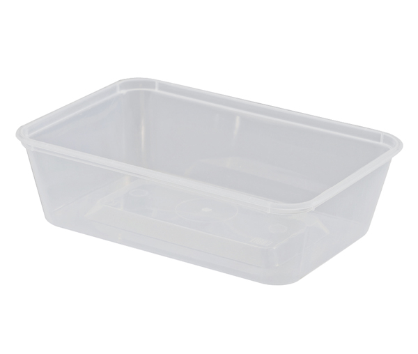 UP CONTAINER RECTANGLE 650ML 50 SLV