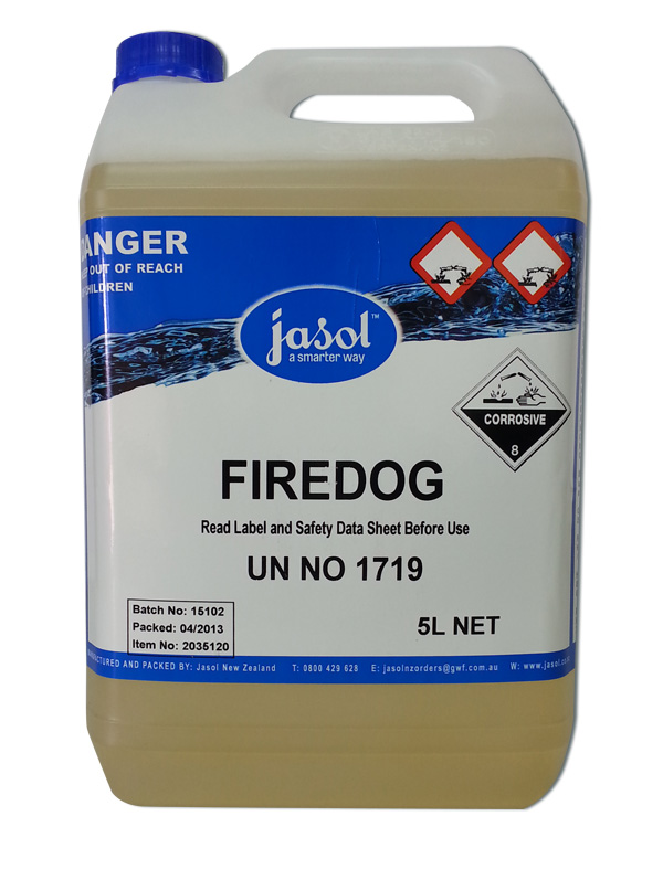 JASOL FIREDOG HEAVY DUTY GRILL CLEANER 5Ltr DG