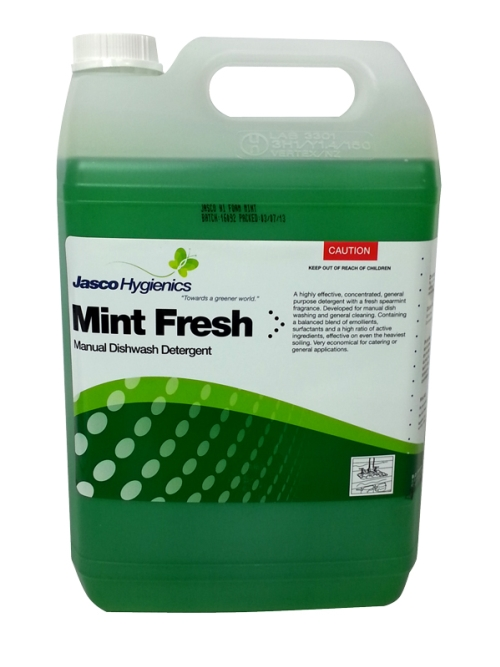 JASCO MINT FRESH MANUAL DISHWASH DETERGENT 5Ltr