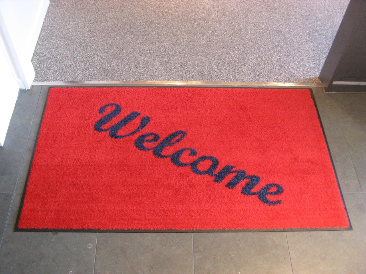 CLASSIC MAT 900x1500 SILVER FERN WELCOME