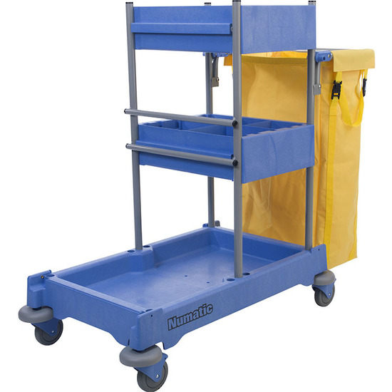 NUMATIC NPT1605 CLEANERS TROLLEY