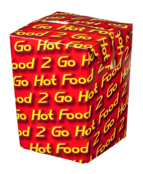 "CHIP BOX SMALL ""HOT FOOD TO GO"" 500ctn"