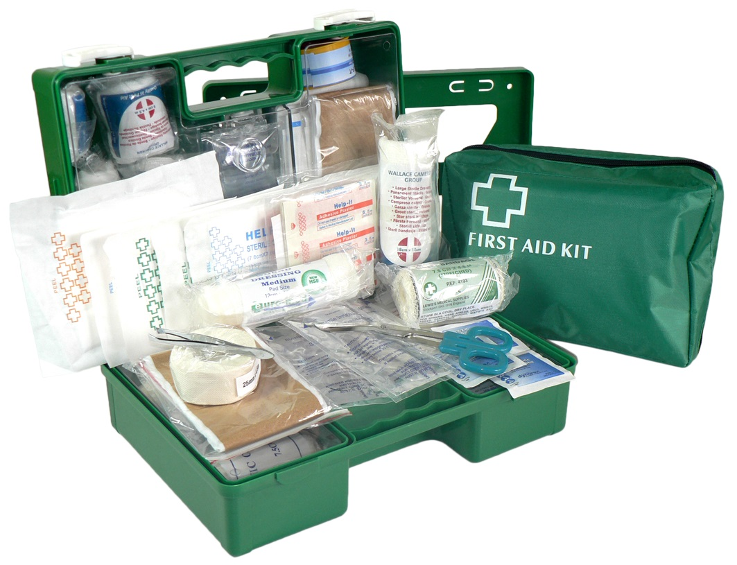 FIRST AID KIT INDUSTRIAL 1-12 PEOPLE SOFT PACK