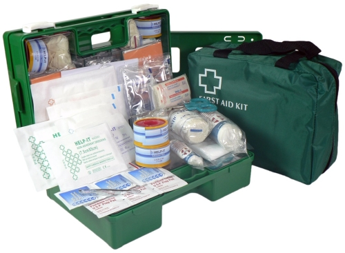 FIRST AID KIT INDUSTRIAL 1-25 PEOPLE SOFT PACK