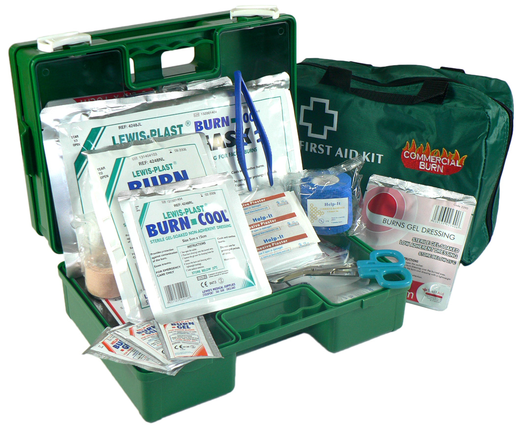 COMMERCIAL BURNS KIT SOFT PACK