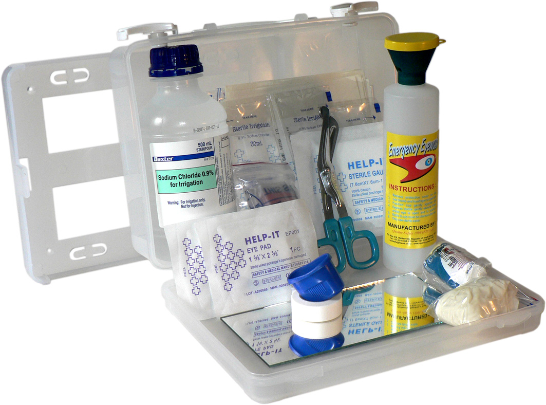 EYE WASH KIT WALL MOUNTABLE