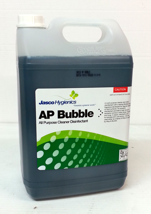 JASCO AP BUBBLE CLEANER DISINFECTANT 5Ltr