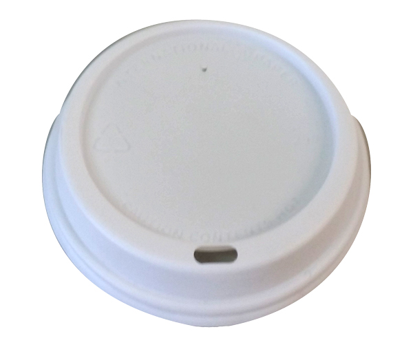 IP HOT CUP LIDS WHITE 12/16/20oz 100slv