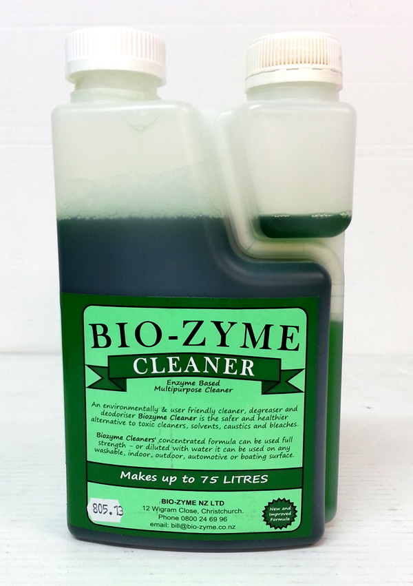 BIOZYME ORGANIC CLEANER (Green Label) 1Ltr
