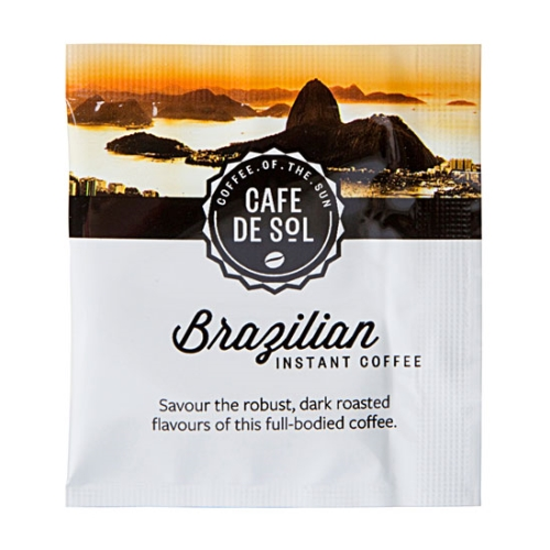 CAFE DE SOL BRAZILIAN COFFEE SACHETS 500ctn