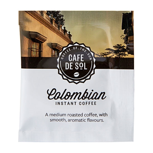 CAFE DE SOL COLUMBIAN COFFEE SACHETS 500ctn