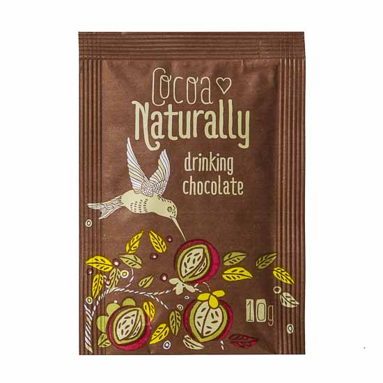 COCOA NATURALLY DRINKING CHOCOLATE SACHETS 300ctn