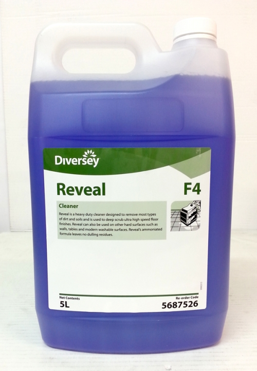 DIVERSEY TASKI REVEAL UHS FLOOR CLEANER 5Ltr