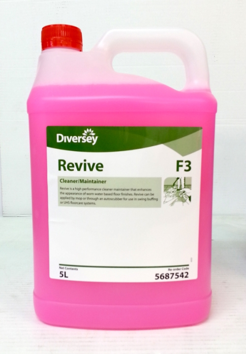 DIVERSEY REVIVE FLOOR CLEANER MAINTAINER  5Ltr