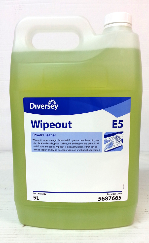 DIVERSEY WIPEOUT POWER CLEANER 5Ltr