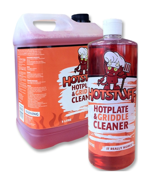 HOT STUFF HOT PLATE & GRIDDLE CLEANER 1Ltr