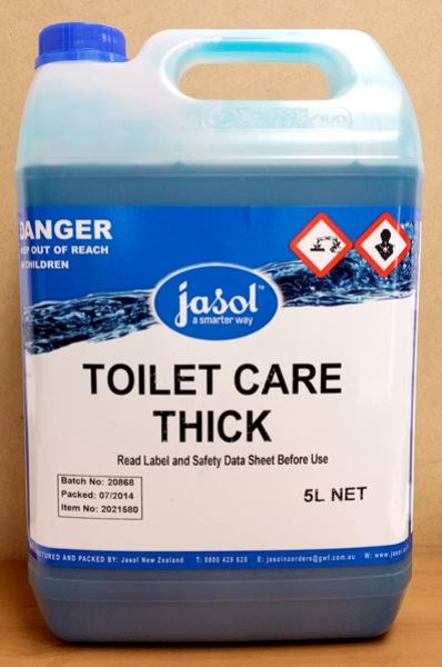 JASOL TOILET CARE THICK TOILET CLEANER 5Ltr