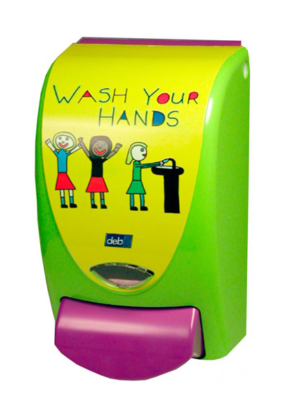 "DEB KIDS DISPESNER ""WASH YOUR HANDS"" 1Ltr"