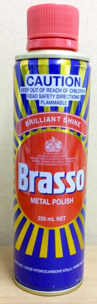 BRASSO METAL POLISH  250ml