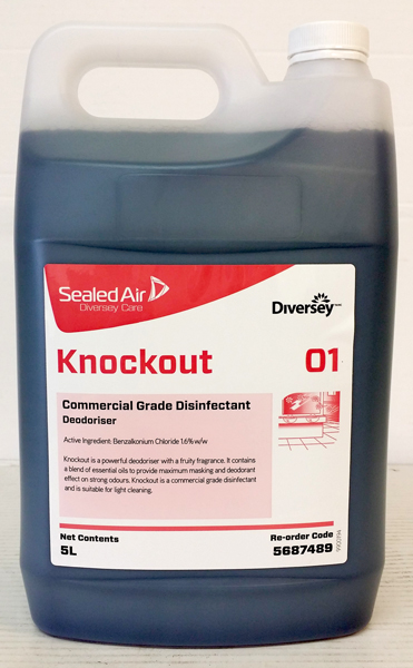 Knockout Disinfectant Reodourant 5ltr Jasco Dist