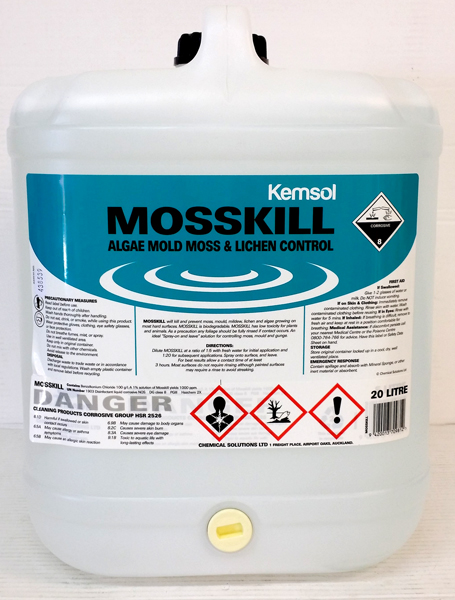 KEMSOL MOSSKILL MOSS & MOULD KILLER 20ltr DG