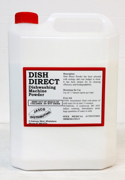 HYGIENICS DISH DIRECT DISHWASHER POWDER 5kg