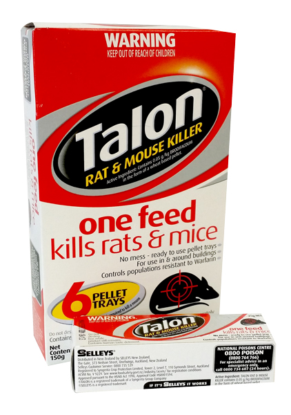 TALON RAT & MOUSE BAIT   150g