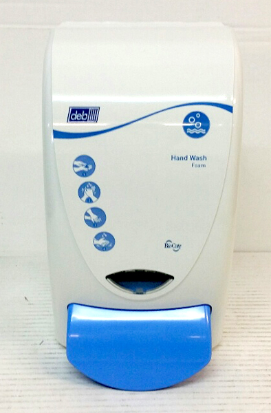 DEB CLEANSE SOAP DISPENSER BLUE 1LTR