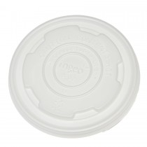 ECOWARE PLA LID for SOUP BOWL 12/16oz  50 slv