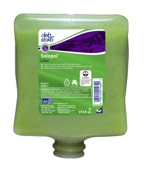 DEB STOKO SOLOPOL LIME LIGHT INDUSTRIAL 2Ltr