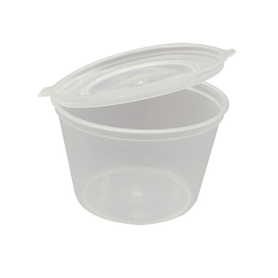UP TC100 ROUND CONTAINER & LID 100ml 50slv