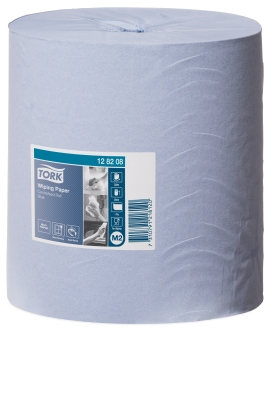 TORK WIPING PAPER CENTERFEED BLUE M2 1ply 320m X 6ROLLS